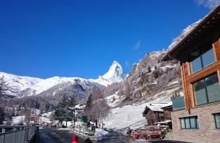 018 First glimpse of the Matterhorn
