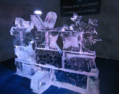 071 Ice sculpture