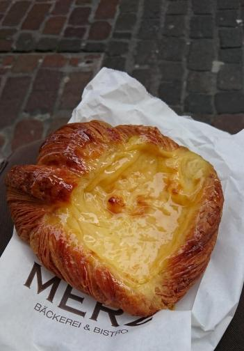 178 Thursday dinner - cream cheese Danish
