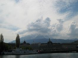 217 Mt Pilatus from the lake