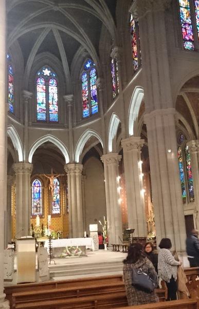 PIC_0050 Most beautiful church I have had mass in - Geneva Basilica