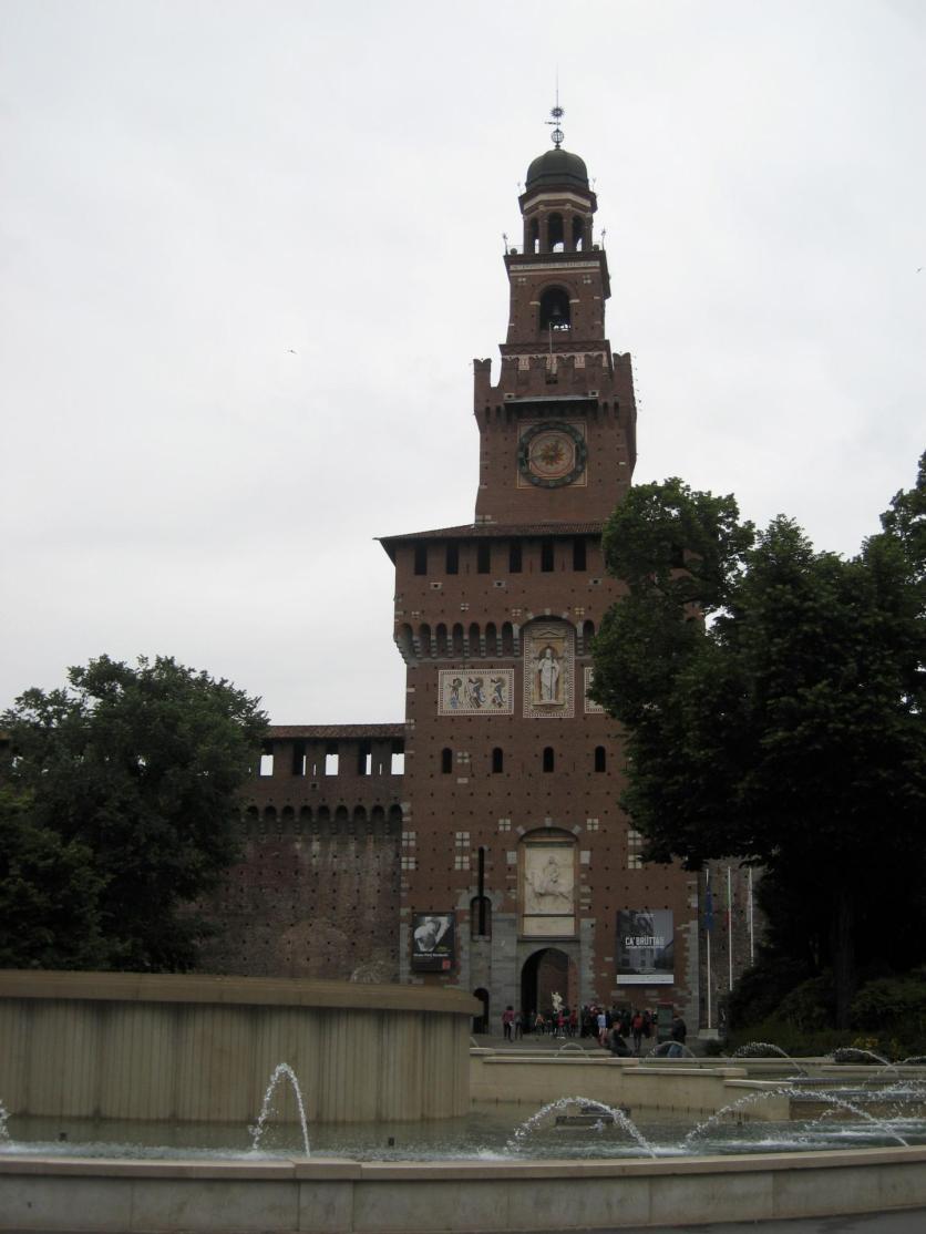 1066 Castle Sforzesco