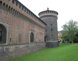 1067 Castle Sforzesco Tower