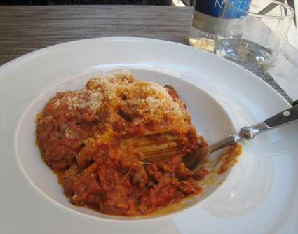 1124 Lunch - Mediocre Lasagna