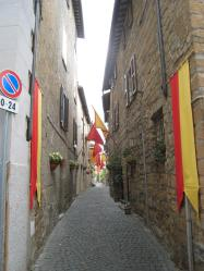 1127 Orvieto Flagged Side Street
