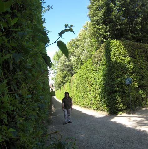 1216 Me in Giardino di Boboli