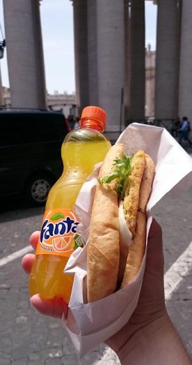 1354 Lunch - Fanta Sandwich