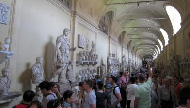1355 Busty Vatican Museum