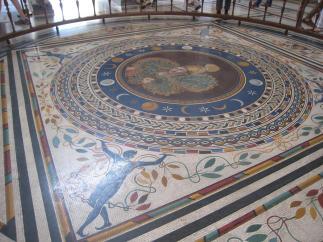 1361 Floor Mosaic