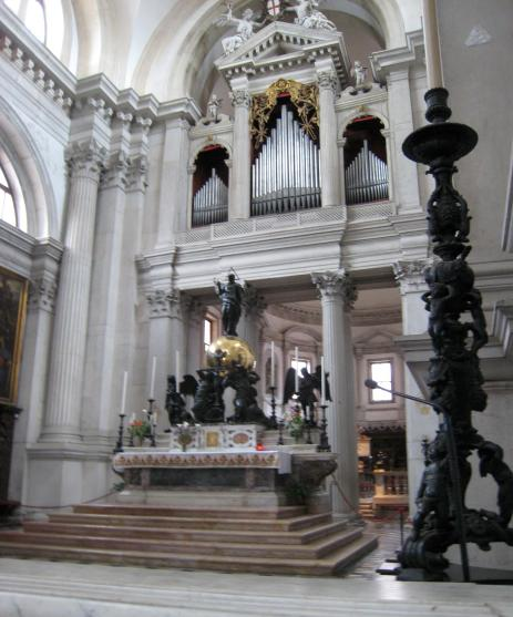 470 San Giorgio Altar and Organ