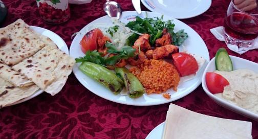 657 Lunch - Kebab and Pancake