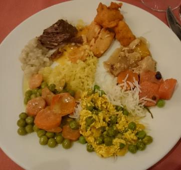 779 Dinner Includes Indian Food