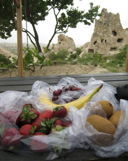 965 Lunch - Fruit in Cappadocia