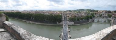 1436 Panorama from Castel Sant Angelo