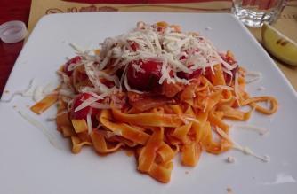 1476 Lunch - Second Course - Fettuccine alla Pisana