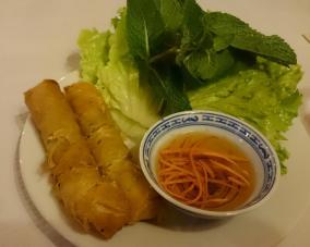1707 Dinner - Camboian Eggrolls
